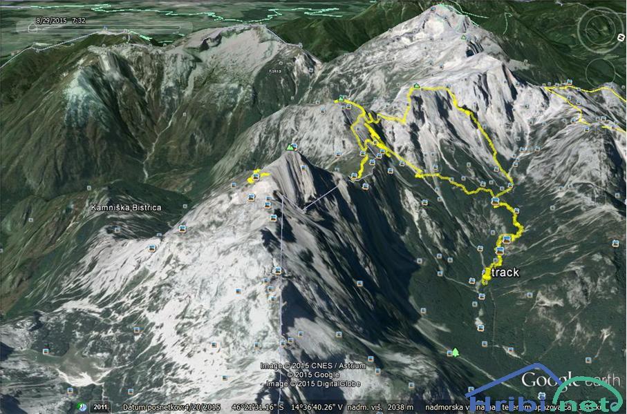 Planjava-Brana-Turska gora