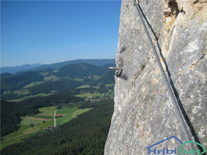 Klettersteig Hohe Wand : Klettersteig nachmittage