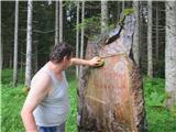 Gorska obeležja NOBMed čiščenjem