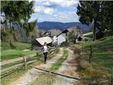 Loška planinska pot Slajka