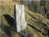 Gorska obeležja NOBspomenik pred obnovo