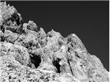 Široka peč 2497 m.n.m.