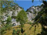 Plaz Črlovec - sleme