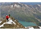 Grosses Wiesbachhorn 3564 mDo vode je 1528 višincev