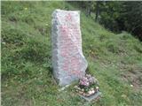 Gorska obeležja NOBZaključek-obnovljen spomenik v Zakalu