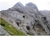 Krnička gora iz Matkove Krnicevotline v Mrzli gori