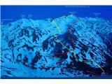 Romatenspitze, 2696 mPo rdeči gor,po rumeni dol