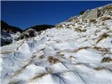 Krasji vrhdo reševin snega le za vzorec