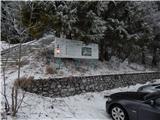 Ljubelj - Koča Vrtača2. stopnja nevarnost snežnih plazov