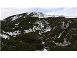 Veliki vrh (Veža)vzhodna pot zaradi premalo snega smo se odločili za zahodno