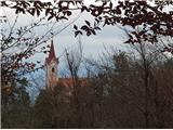 Sv.Jakob,Rog,Jeterbenk (krožna tura)Golo brdo