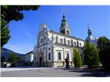 Jakobova pot  - Višarska smer- Bazilika Marije Pomagaj na Brezjah