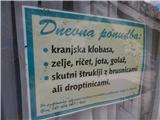 Ljubelj - Koča VrtačaPri koči