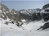 Batognicanad planino Na Polju se ponovno odpre razgled na Krnsko jezero
