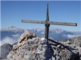 Krkotnik 2116mNaš križ z našimi Julijci...