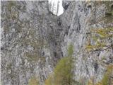 Ojstri vrh 1371mgrapa, ki jo bo treba raziskat