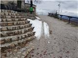 Šmarna goraTo je od snega ostalo