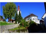 Jakobova pot  - Višarska smer- Cerkev Udarjene Marije v Ljubnem, lepa vas