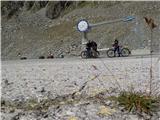 Solden - Ötztal Glacier Road - Rettenbach 2800 mVesela ekipa na vrhu, res nam je odleglo