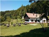 Čemšeniška planina - KrvavicaDom na Čemšeniški planini