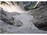 Krnička gora iz Matkove Krniceše za več metrov ga je