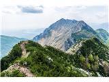 Alta via CAI Gemona (greben Lanež - Veliki Karman)ni veliko in ne malo