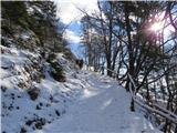 Velika planinavse bolj zimsko postaja