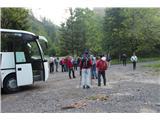 Stegovnikavtobus na odloži v Medvodju