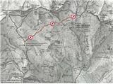 Zaprta pot med Velikimi in Malimi podi pod Skuto!Zaprta planinska pot med Velikimi in Malimi podi pod Skuto!