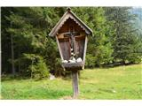Znamenja (križi in kapelice) na planinskih potehŠe okolici spodnje postaje  žičnice za na Ankogel.