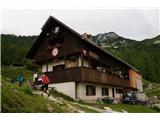 Debela peč, Brda, Lipanski vrh, Mrežce- Blejska koča na planini Lipanca...