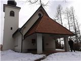 Cerkev na Planici nad Crngrobom pri Šk.Loki