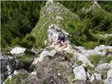 Javorca(Golte)pa po grebenih