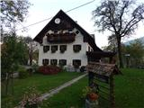 Kojca (1303m)Turistična kmetija pri Flandru