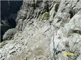 FERRATA SOSAT-Dolomiti di Brentadobro varovano