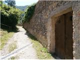 Ob obzidju in stara železna vrata