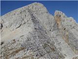 Turn pod Stenarjem 2154Še zadnji del grebena proti vrhu