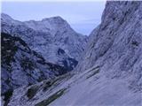 Kalška goraVečer pod stenami Kalške gore.