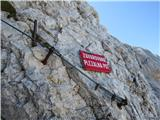 Na Triglav?po plezalni poti Malem Triglavu