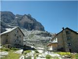 FERRATA SOSAT-Dolomiti di Brentakoča Tuckett