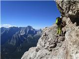 Monte Cristallo (3221) in po policah...