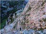 Kalška goraPo markirani poti nazaj na Kokrsko sedlo.