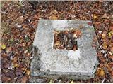 Sv.Jakob,Rog,Jeterbenk (krožna tura)tu je bil križ na Rogu