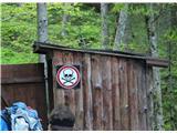 Stegovnikje treba povedat, kaj je v tej kolibi? :)