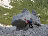 Krnička gora iz Matkove KrniceTudi moj sin se je pred sedmimi leti trudil...