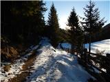 Pod Peco / Koprein-Petzen - Čofatijev vrh