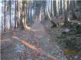 Loška planinska pot Lepo je tukaj hoditi