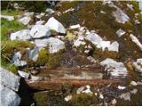 Krnička gora iz Matkove KrniceSveža hladna voda v krnici