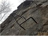 Liscazačetek plezalne