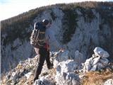 Ojstri vrh 1371mNa vrhu Ojstrega